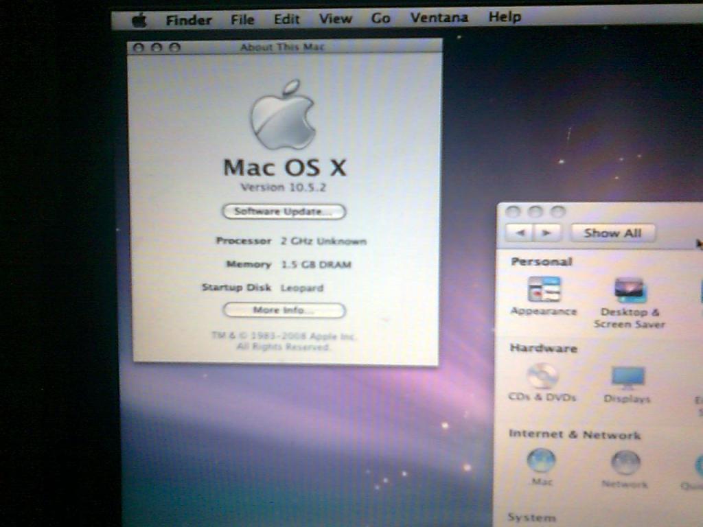 MAC-OS vmware